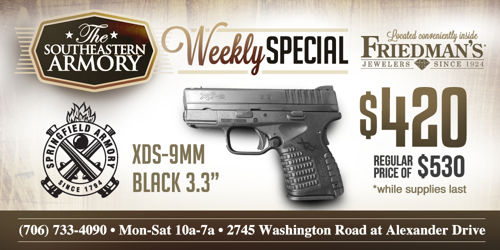 Southeastern Armory 3x2.5 - Springfield XDS 9mm  7-16